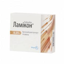 Купить Ламикон 0.25г табл. №14 в Санкт-Петербурге