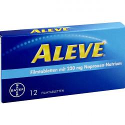 Купить Алив Aleve (Напроксен) таблетки №12 в Санкт-Петербурге