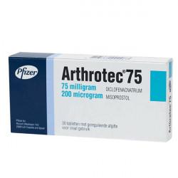 Купить Артротек таблетки 75мг+200мкг 30шт. в Санкт-Петербурге