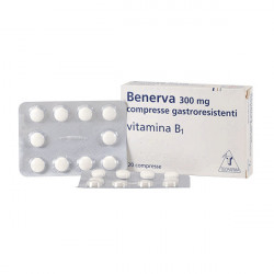 Купить Бенерва (тиамина хлорид в таблетках) 300мг №20 в Санкт-Петербурге