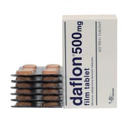 Фото препарата Дафлон таблетки 500мг №60