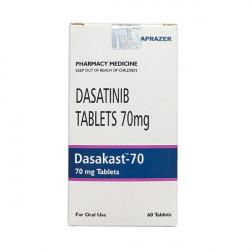 Купить Дазатиниб (Dasakast) :: полный аналог Спрайсел :: таблетки 70мг №60 в Санкт-Петербурге