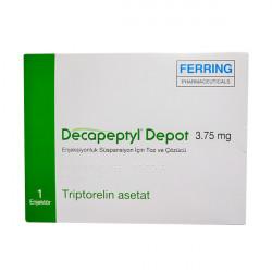 Купить Декапептил депо (Трипторелин) лиоф. для инъекций 3,75мг №1 в Санкт-Петербурге