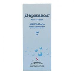 Купить Дермазол 2% шампунь фл. 100мл в Санкт-Петербурге