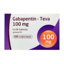 Купить Габапентин (Gabapentin) 100 мг Тева капсулы №100 в Санкт-Петербурге
