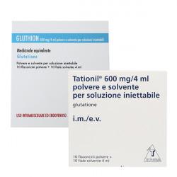 Фото препарата Глутатион (Глутион, Glution, TAD 600) амп. 600мг 4мл №10