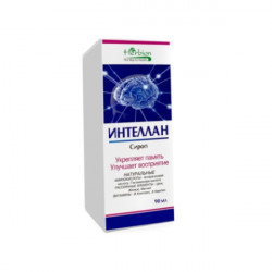 Купить Интеллан сироп 1 фл. 120мл в Санкт-Петербурге