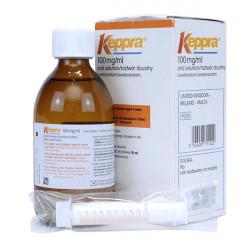 Купить Кеппра сироп 100 мг/мл 300 мл в Санкт-Петербурге