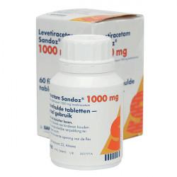 Купить Леветирацетам 1000мг табл. №60 (60 табл./уп) в Санкт-Петербурге