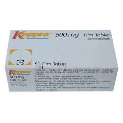 Купить Кеппра (Keppra) таблетки 500мг №50 в Санкт-Петербурге
