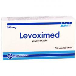 Купить Левоксимед (Levoximed) таблетки 500мг №7 в Санкт-Петербурге