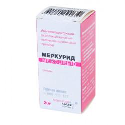 Купить Меркурид гран. гомеопатические 20г в Санкт-Петербурге