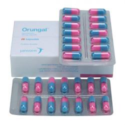 Купить Орунгал 100 мг капс. №14 в Санкт-Петербурге