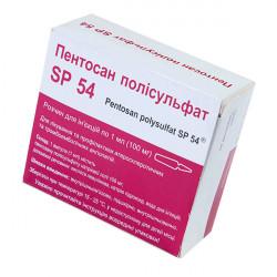 Купить Пентосан полисульфат SP 54 амп. 1мл 100мг N10 в Санкт-Петербурге