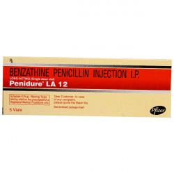 Купить Penidure (полный аналог Ретарпена и Экстенциллина) 1.2 млн МЕ №5 (5шт/уп) в Санкт-Петербурге