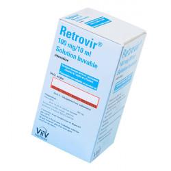 Купить Ретровир сироп для новорожденных 100мг/10мл флакон 200мл в Санкт-Петербурге