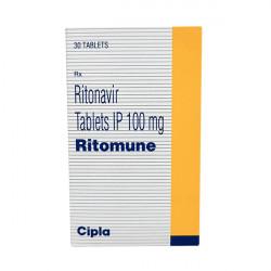 Купить Ритонавир (Ritomune : Ritomax) табл. 100мг №30 в Санкт-Петербурге