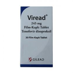 Купить Виреад (Viread) таблетки 245мг №30 в Санкт-Петербурге
