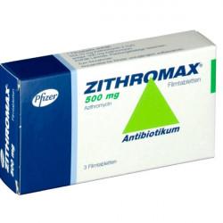 Купить Зитромакс таб. 500мг №3 в Санкт-Петербурге