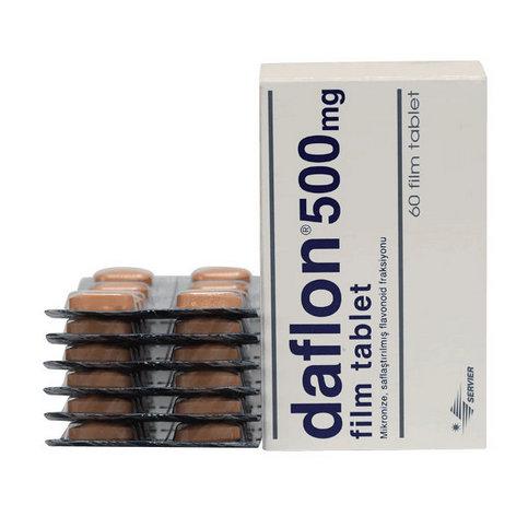 Купить Дафлон таблетки 500мг №60 в Санкт-Петербурге